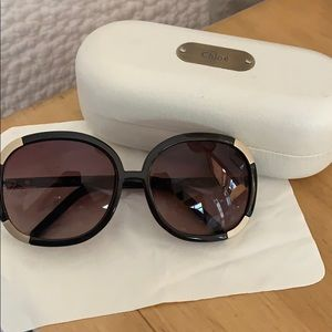 Chloè purple sunglasses 2119
